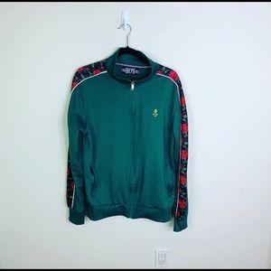 Black Keys Green Rose Track Jacket BKYS